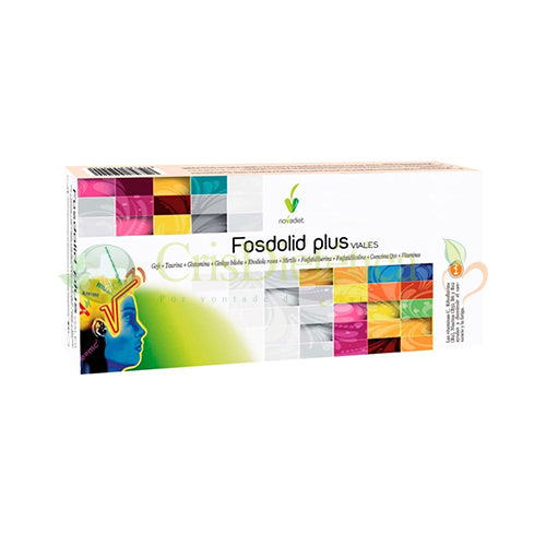 NOVA DIET FOSDOLID PLUS 20 FRASCOS x 10ml