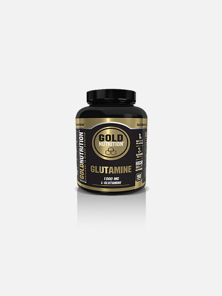 Glutamine 1000mg 90 cápsulas - GoldNutrition