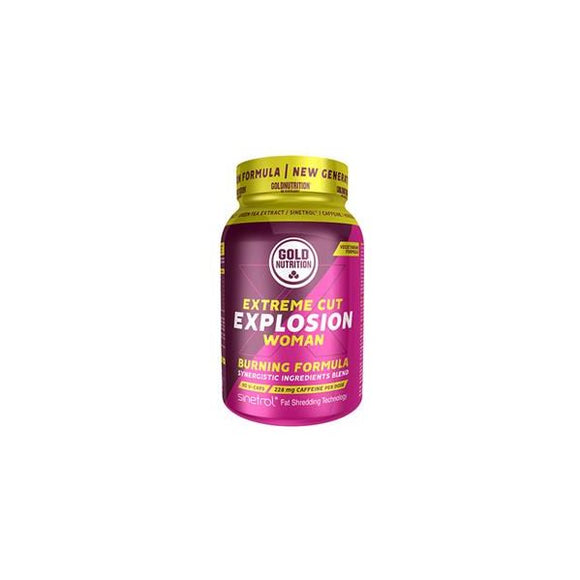 Extreme Cut Explosion Woman 90 Cápsulas - GoldNutrition
