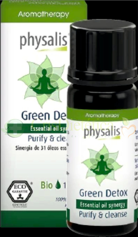 Synergy Green Detox Bio 10ml - Physalis