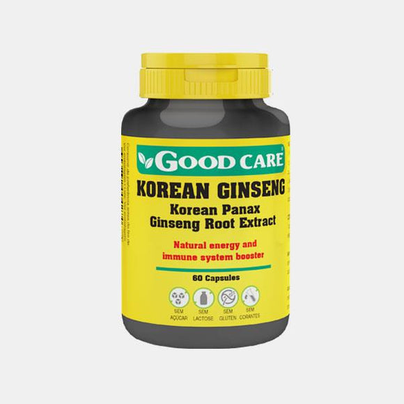 Korean Ginseng 60 cápsulas - Good Care