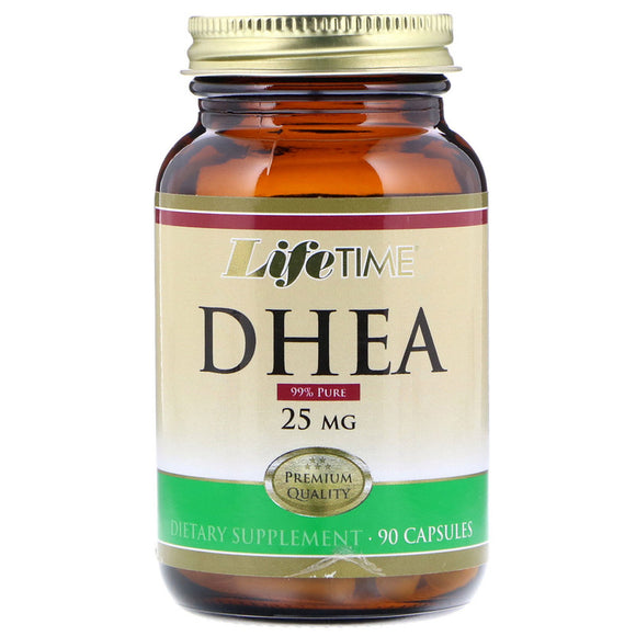 DHEA 25 mg 90 cápsulas - LIFETIME