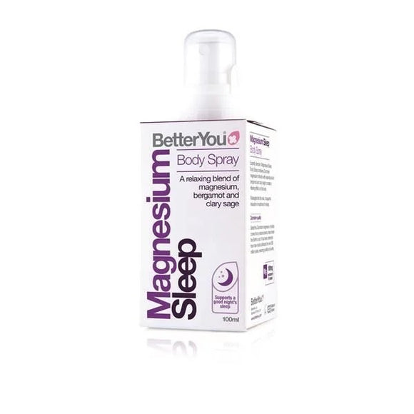 Magnésio Puro Óleos Essenciais Noturno Spray 100ml - Betteryou