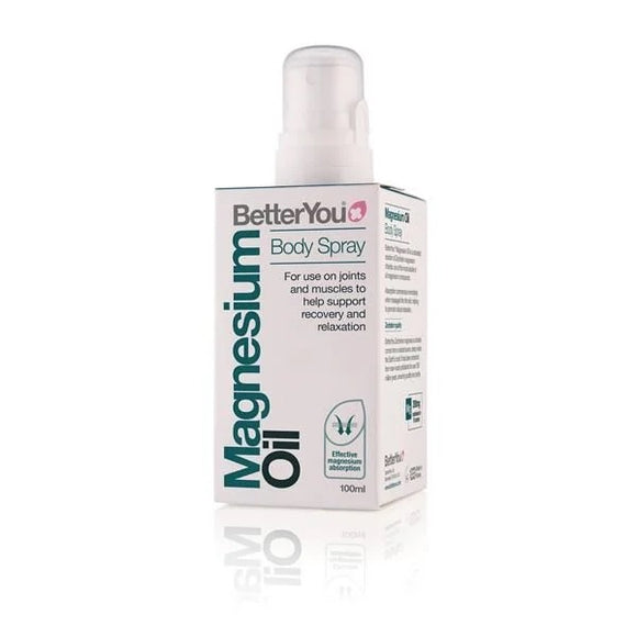 Magnésio Puro Original Spray 100ml - Betteryou