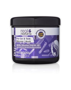 Mask Without Salt Pro Color and Tinting Tone 500ml - Real Natura - Crisdietética
