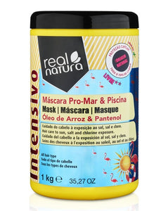 Mask Without Salt for Sea and Pool 1kg - Real Natura - Crisdietética