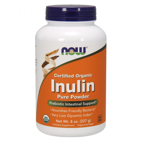 NOW Inulin Pure Powder 227g