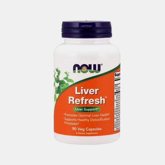 NOW Liver Refresh 90 cápsulas