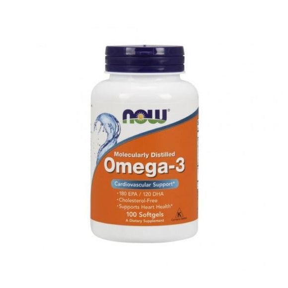 NOW Omega-3 1000mg 100 cápsulas