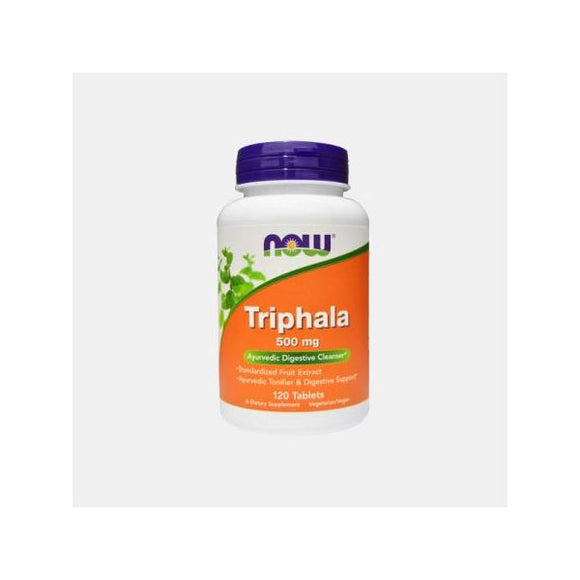 NOW Triphala 500mg 120 comprimidos