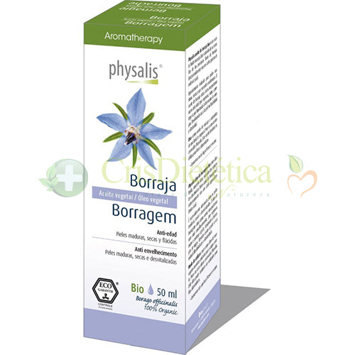 Óleos Vegetais Borragem 50ml - Physalis