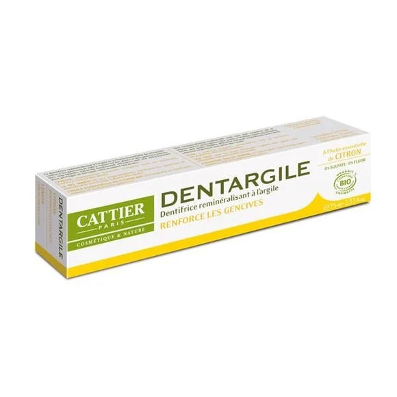 Pasta de Dente de Argila + Limão 75ml - Cattier