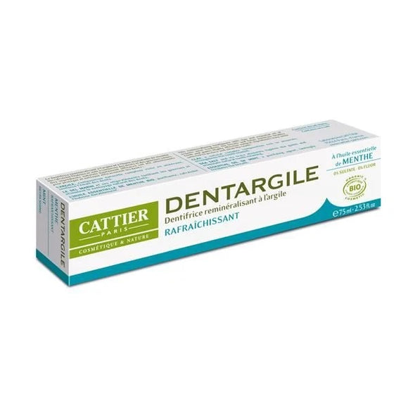 Pasta de Dentes de Argila + Menta 75ml - Cattier
