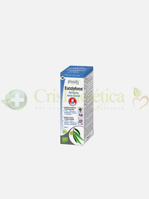 Eucalyforce Spray Bucal 30ml - Physalis