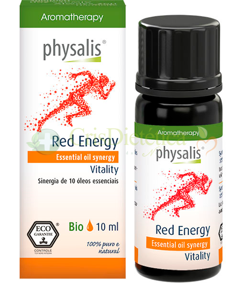 Synergy Red Energy Bio 10ml - Physalis
