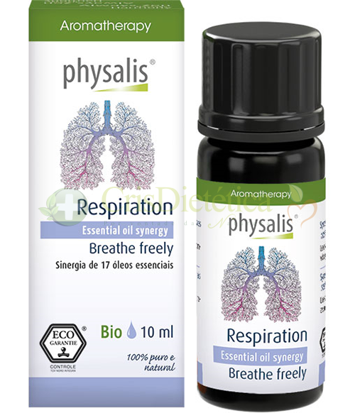 Synergy Respiration Bio 10ml - Physalis