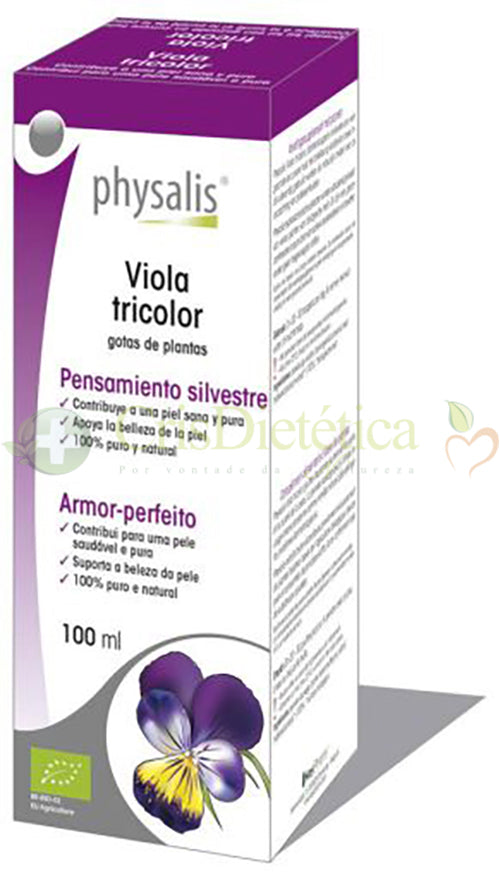 Viola Tricolor Gotas 100ml - Physalis