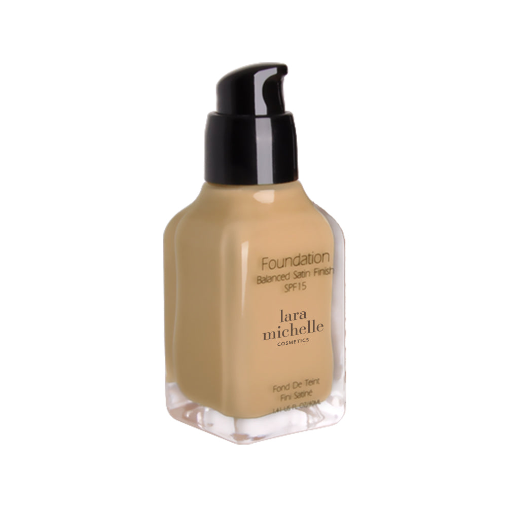 Balanced Satin Finish Foundation (Medium to Full Coverage)