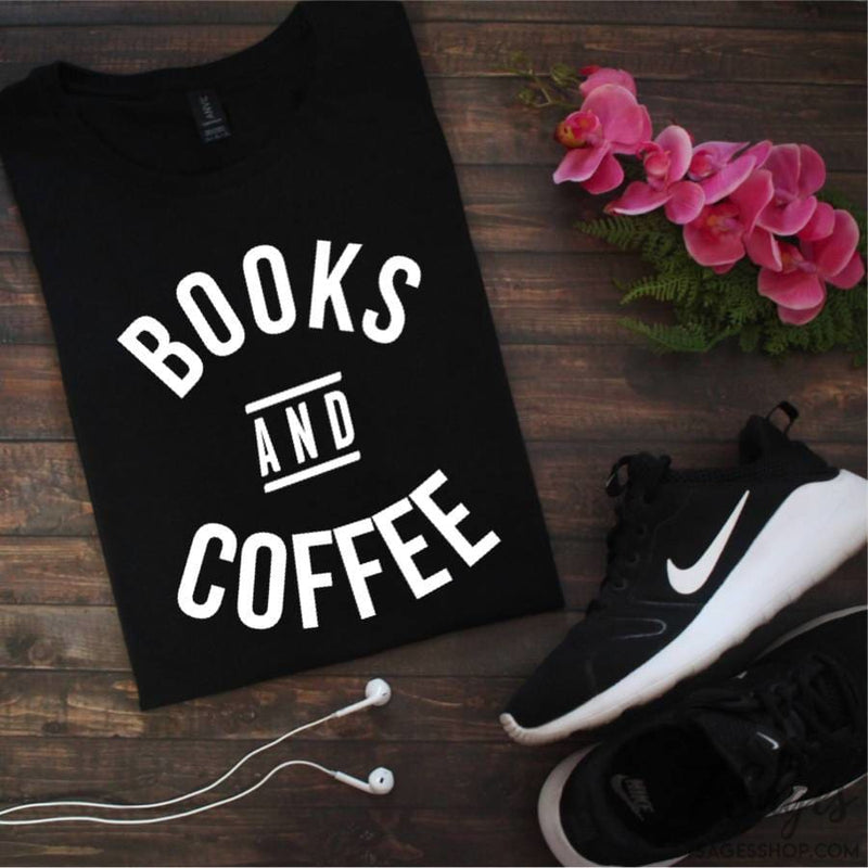 Books and Coffee T-Shirt