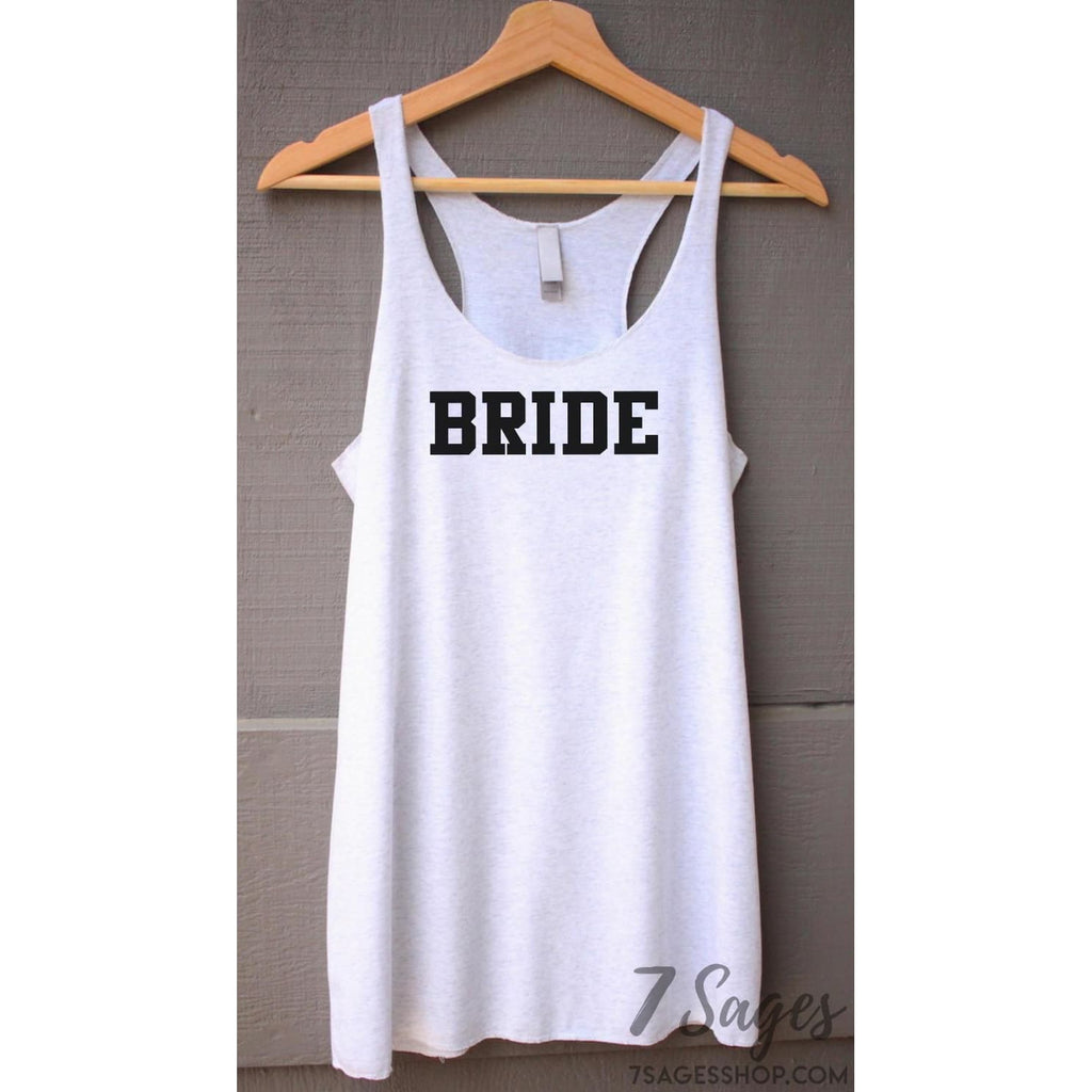 Bride Squad Bachelorette Party Tank Tops