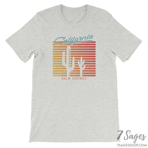 California T-Shirt - Athletic Heather / S