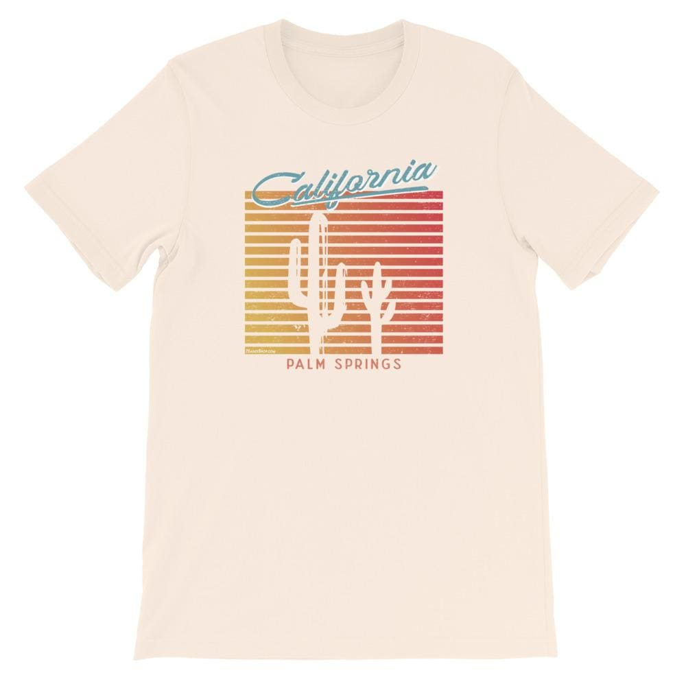 California T-Shirt - Soft Cream / S
