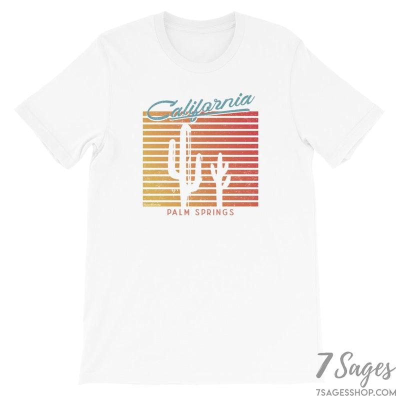 California T-Shirt - White / S