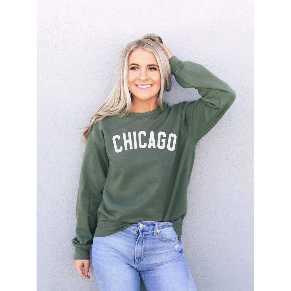 Chicago Sweatshirt - Chicago Shirt - Illinois Sweatshirt - Chicago State Sweatshirt
