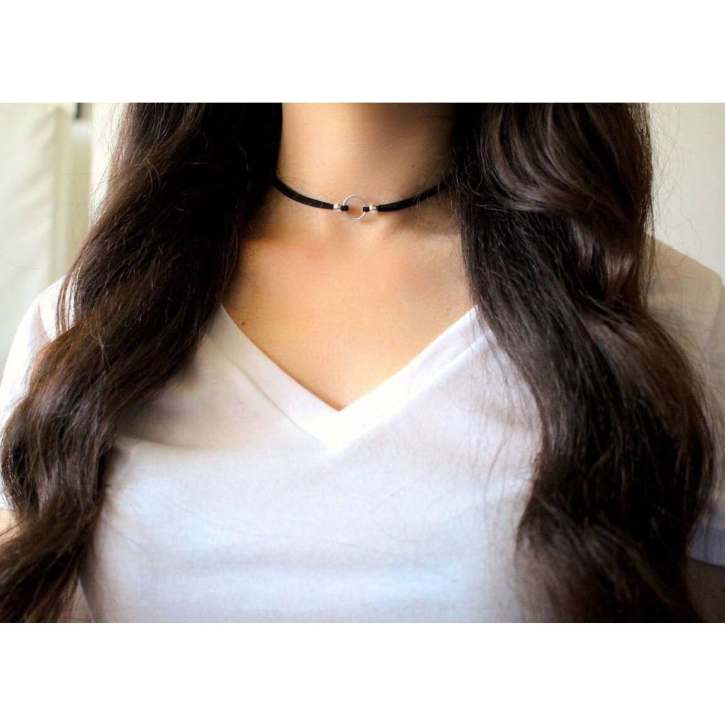 Circle Choker Necklace