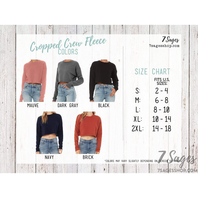 Colorado Sweatshirt - Colorado Cropped Sweatshirt - Colorado Shirts - Colorado Crop Top - Fleece Sweater