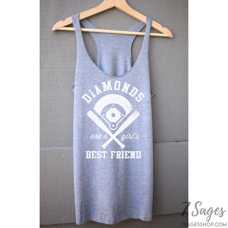 Diamonds Are A Girls Best Friend Tank Top