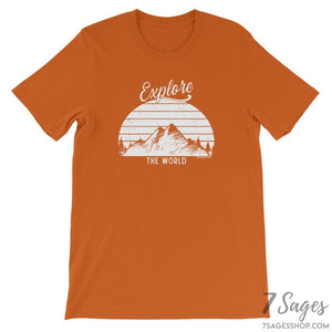 Explore the World T-Shirt - Autumn / S