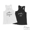 Gettin Lit / Gettin Hitched Bachelorette Party Tank Tops