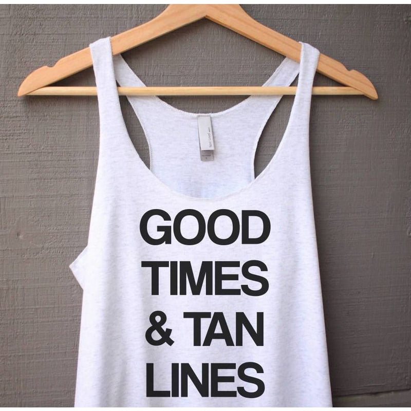 Good Times and Tan Lines Tank Top