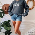 Hawaii Sweatshirt - Hawaii Sweater - Hawaii Shirt - Hawaii Crewneck