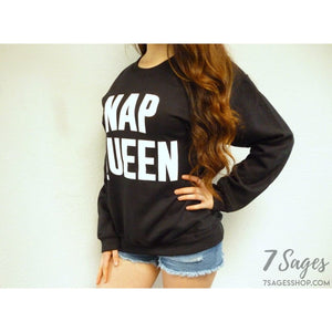 Nap Queen Crewneck Sweatshirt