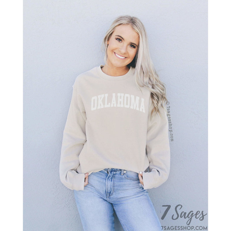 Oklahoma Sweatshirt - Oklahoma Shirts - Oklahoma Shirts - University of Oklahoma - Oklahoma Sweater