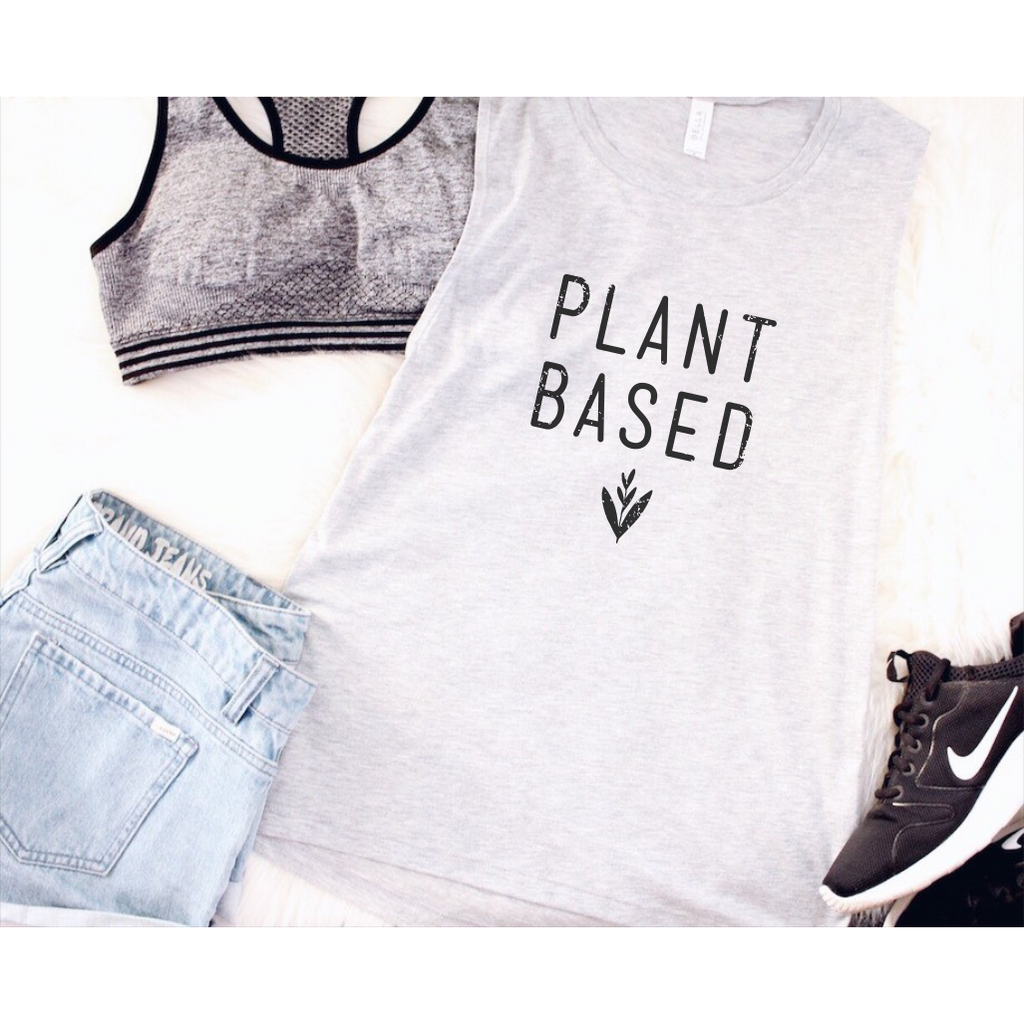 Plant Based Muscle Tank Top