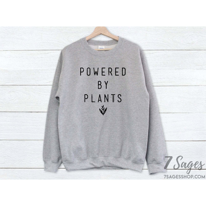 Powered By Plants Sweatshirt - Sweater