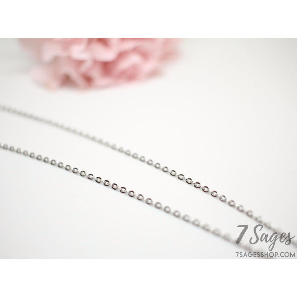 Silver Blossom Necklace