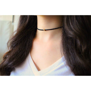 Suede Choker Necklace