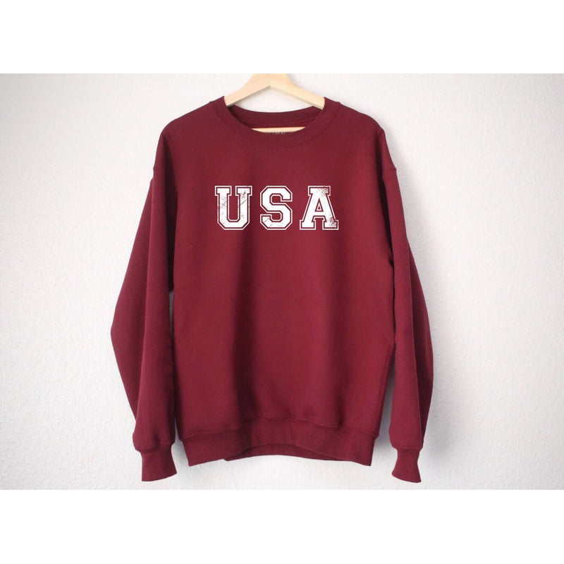 USA Crewneck Sweatshirt