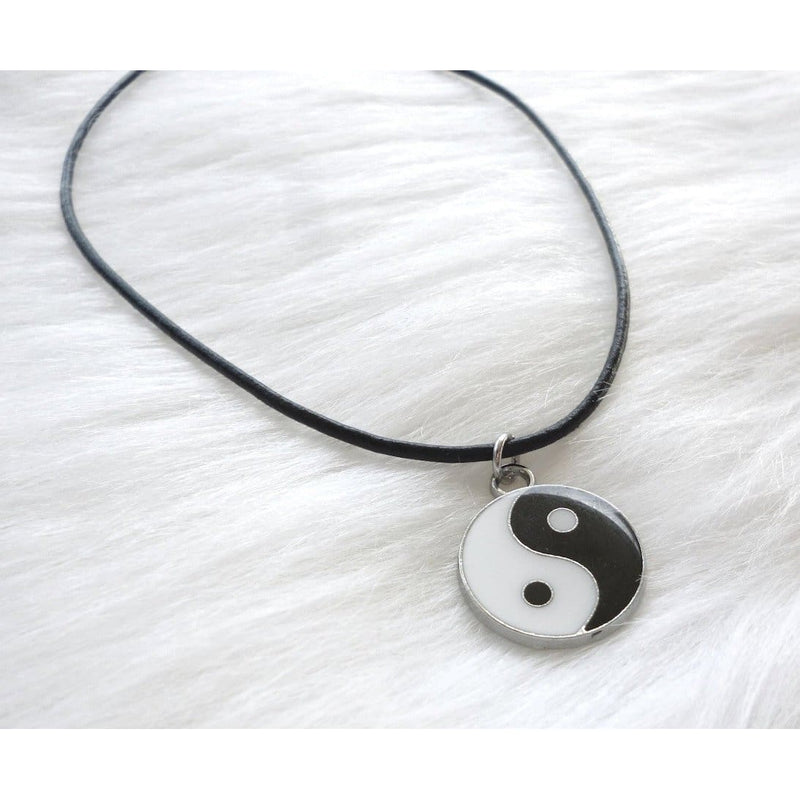Yin and Yang Choker Necklace