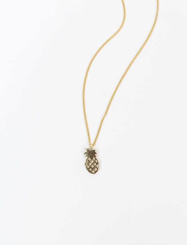 Pineapple Charm Necklace