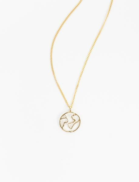 Globe Charm Necklace