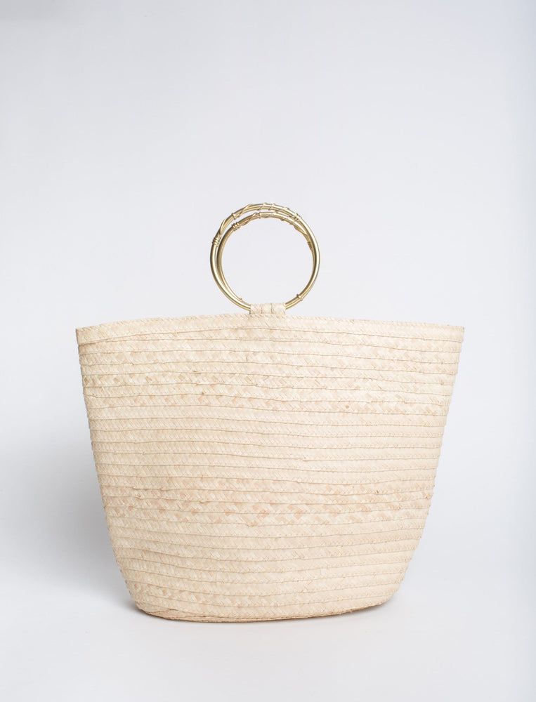Melody Hoop Handle Tote