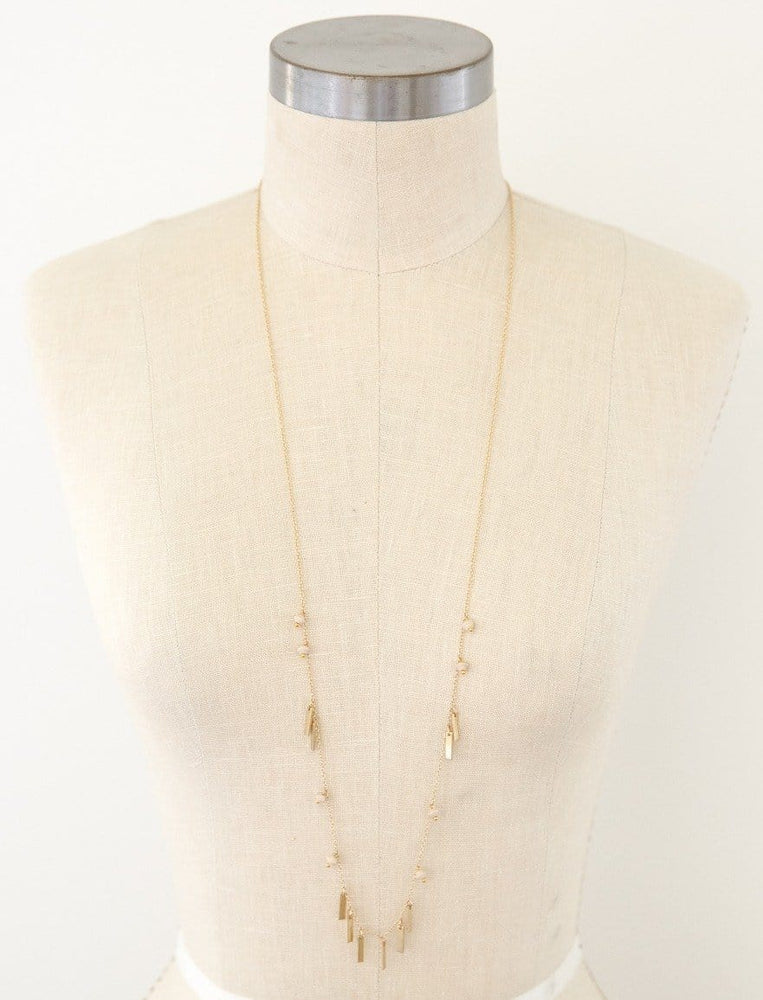 Fallon Fringe Chain necklace