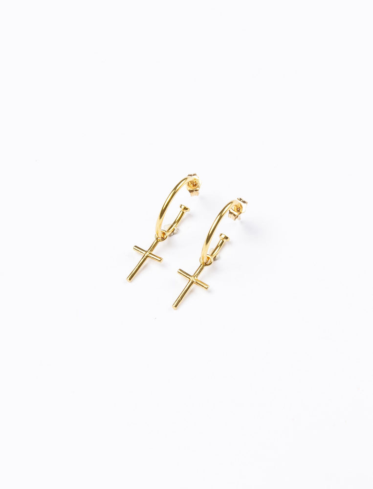 Mini Cross Hoops