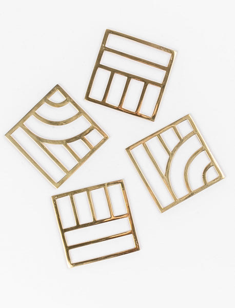 Geo Coasters - Set of 4