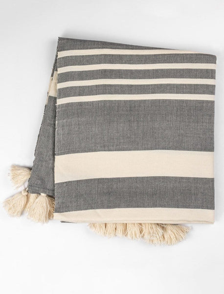 In the Night Striped Throw